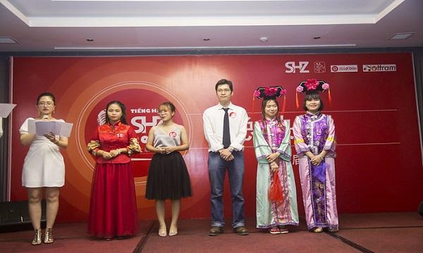 Các thí sinh đạt giải cuộc thi Tiếng Hát SHZ 2019