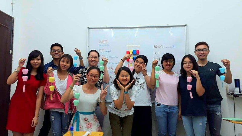 Lớp học tiếng Trung cơ bản cho người mới