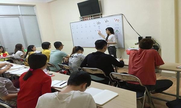 Lớp học tiếng Hoa ở Thủ Dầu Một Bình Dương