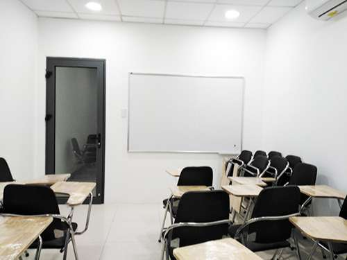 Cơ sở vật chất trung tâm học tiếng Trung ở quận 3 SHZ cơ sở 2