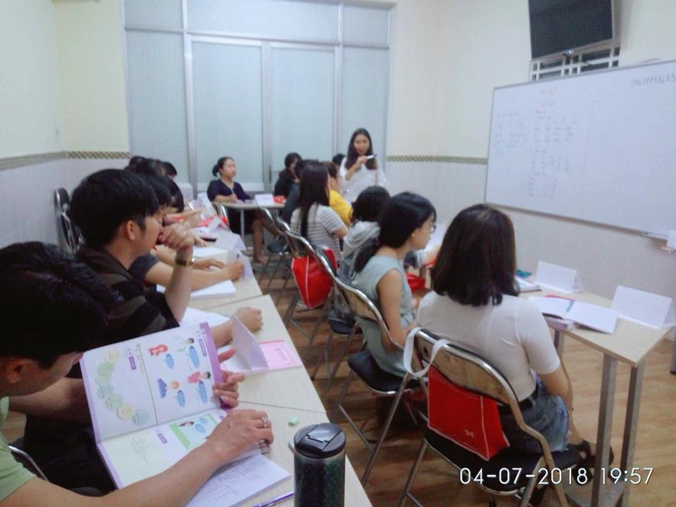 Lớp học tiếng Trung cho người mới bắt đầu tại Hoa Văn SHZ