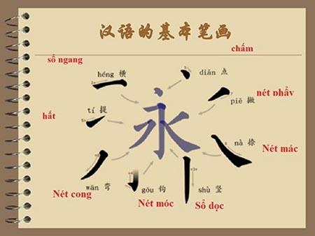 Học cách viết chữ Hán đúng để nhớ chữ nhanh