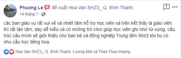 Trung tâm dạy Tiếng Hoa tốt tại TPHCM